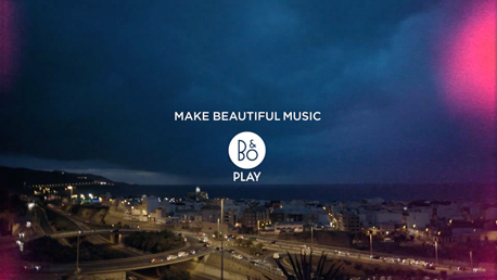 bang & olufson beoplay p2, a seven islands film service production on gran canaria, canary islands