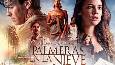 Palmeras en la Nieve a Seven Islands Film Service Production produced on Gran Canaria