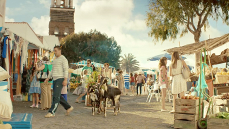 thomas cook tv commercial produced on Lanzarote by Seven Islands Film